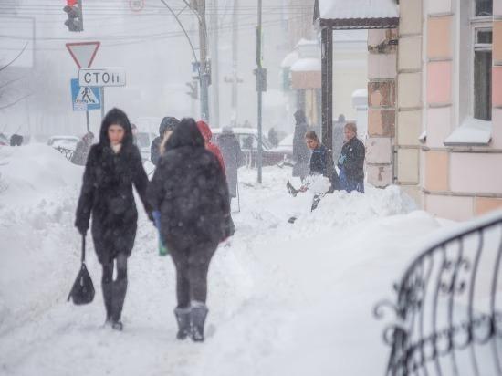 Метель в Самарской области будет бушевать еще сутки