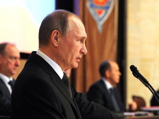 Путин рассказал о секретной разработке оружия России под прикрытием ФСБ