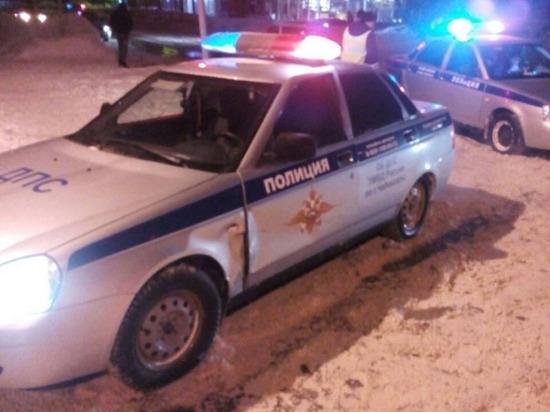 В Чебоксарах нетрезвый водитель подбил два автомобиля ГИБДД