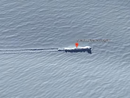 В Антарктиде нашли упавший