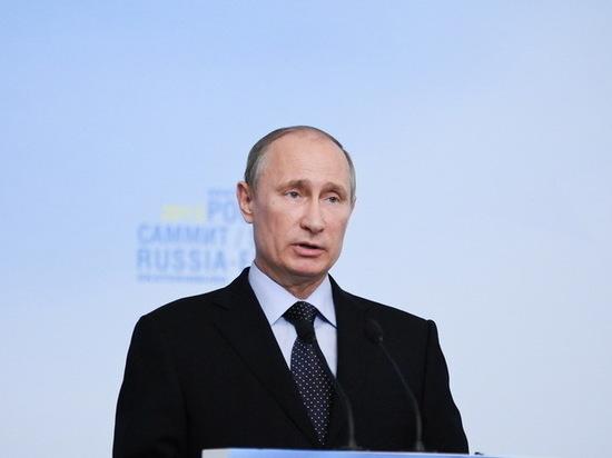 На сайте президента России проанонсировали визит Путина в Свердловскую область