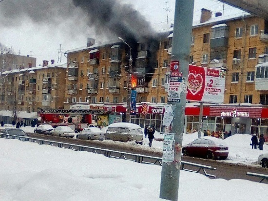 В Самаре на улице Стара-Загора горела квартира