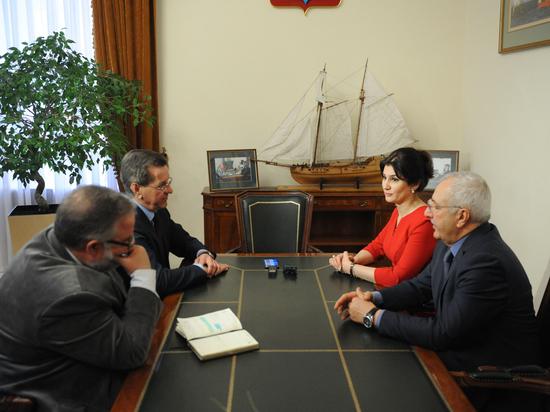 На открытие делового центра в Астрахани приедет делегация из Баку