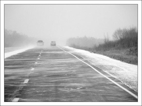В Оренбуржье на автодорогах открыты пункты обогрева