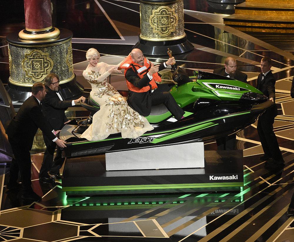 «Оскар» 2018: наряды и эмоции