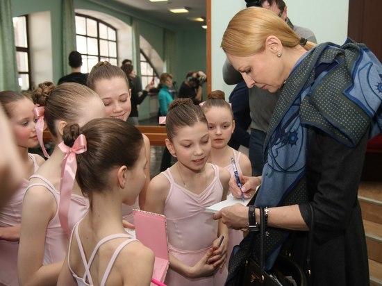 Гости в городе: в Петрозаводске с визитом находится балерина Илзе Лиепа