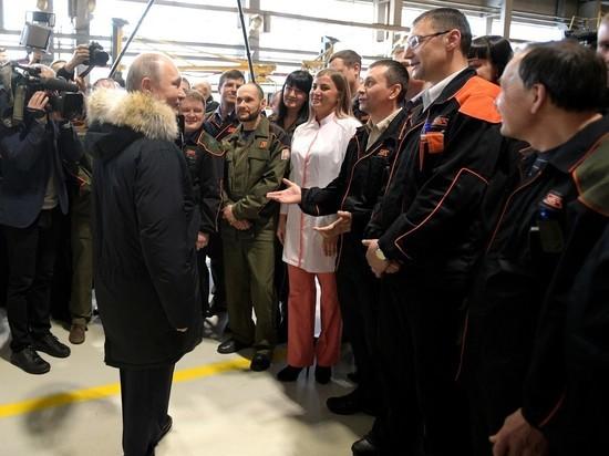 Верные рабочие Уралвагонзавода пожаловались Путину на быт