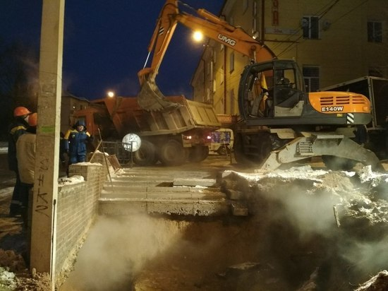 Жители Заднепровского района Смоленска остались без отопления и горячей воды на трое суток