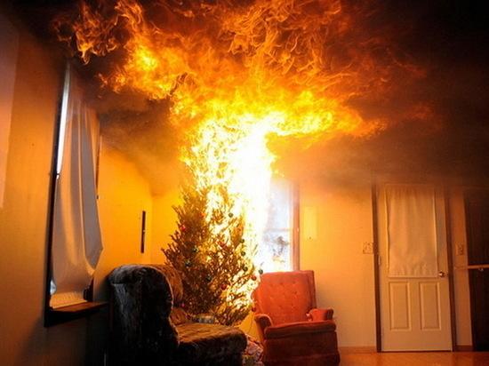 В Ютазинском районе Татарстана при пожаре погиб мужчина