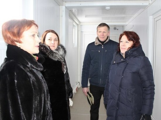 В Вышневолоцком районе торжественно открыли новый ФАП
