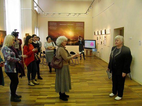 В Тверском выставочном зале открылась выставка работ Айвазовского