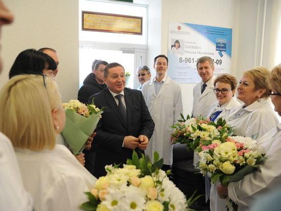 Роддом волгоградской больницы № 7 проверил Андрей Бочаров