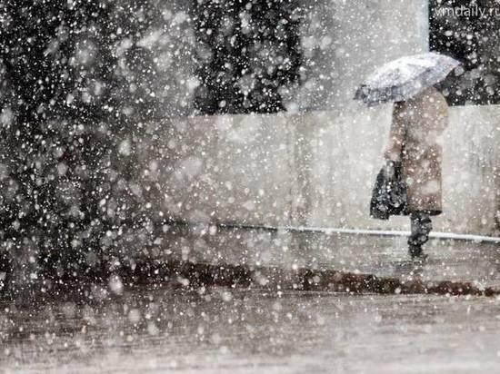 В Тверской области прогнозируют сильный снегопад
