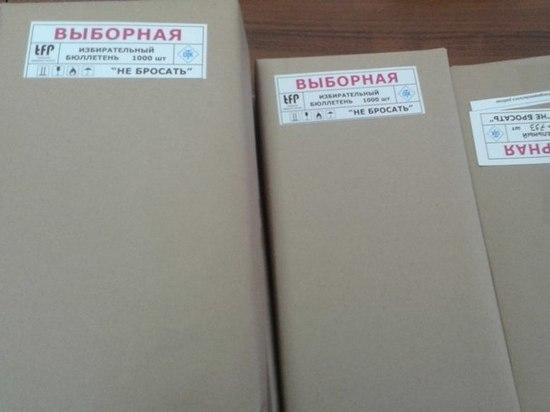В Тверской области бюллетени для выборов Президента возьмут под охрану полиции