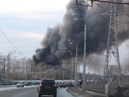 На Мехзаводе горел частный дом на площади 60 кв. м