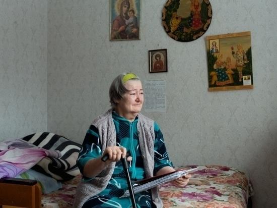 Дети бросили пожилую мать-инвалида без денег и жилья в Волгограде