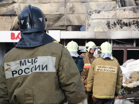 В Малых Березниках спасатели не дали огню перекинуться на дом