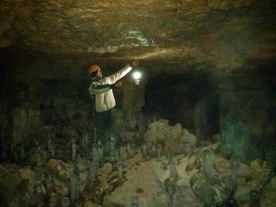 Путешественник из Ярославля исследовал старицкие пещеры
