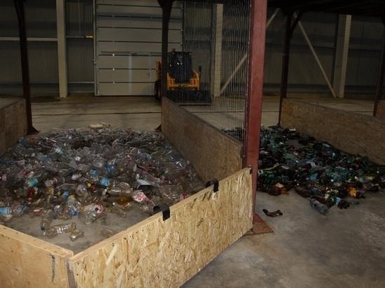 Балаковский мусороперерабатывающий комплекс извлек из мусора первую сотню тонн пластиковых бутылок