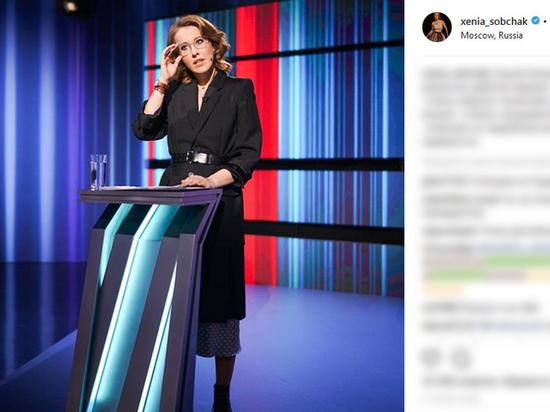 Собчак победила выборы в блогосфере