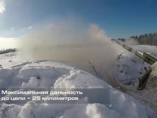 Испытания высокоточных снарядов «Краснополь» сняли на видео