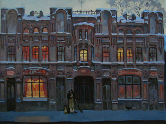 Выставка картин Александра Чернигина пройдет в Нижнем Новгороде