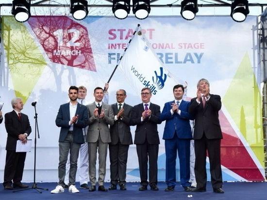 Эстафета флага WorldSkills Kazan-2019 стартовала в Мадриде