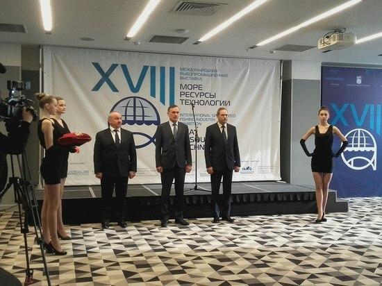 В Мурманске торжественно открыли выставку «Море. Ресурсы. Технологии – 2018»