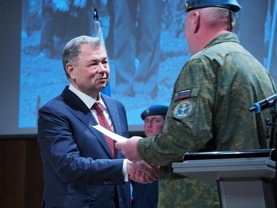 Калужский губернатор отмечен медалью Минoбороны РФ