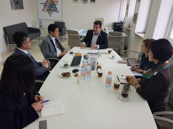 Корейцы приехали в Израиль перенимать опыт министерства алии и интеграции