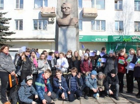 Для молодёжи на бюст Гагарина в Архангельске повесят табличку