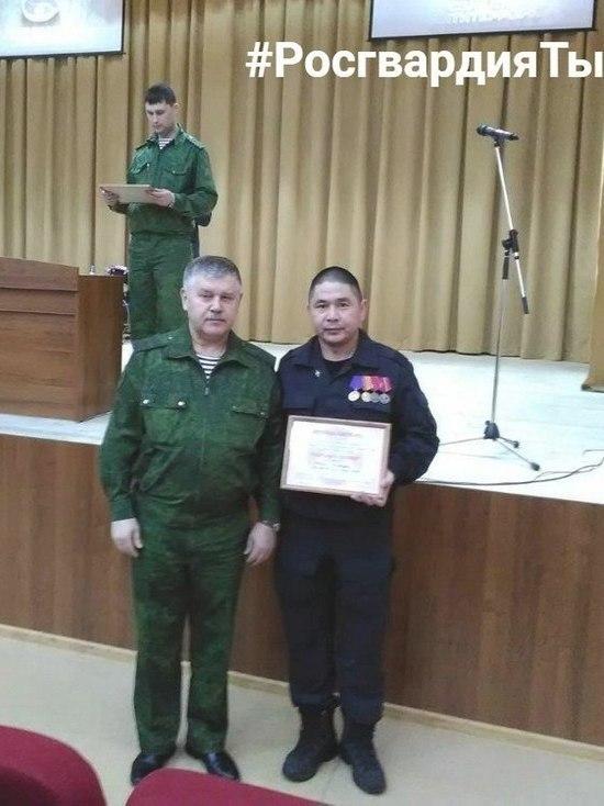 Боец ОМОН Росгвардии Тувы стал лауреатом III степени конкурса «Солдаты антитеррора»