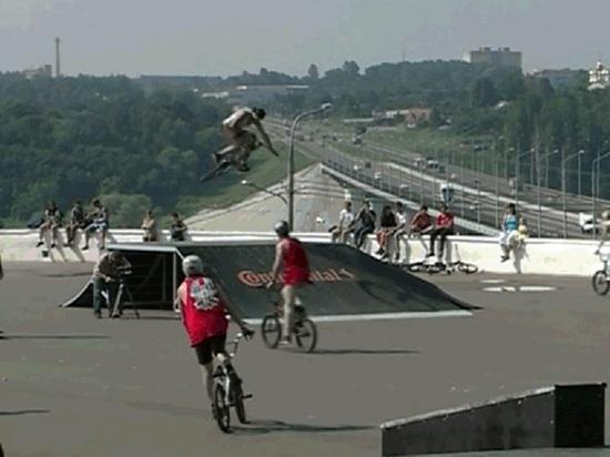 Скейт-площадку у