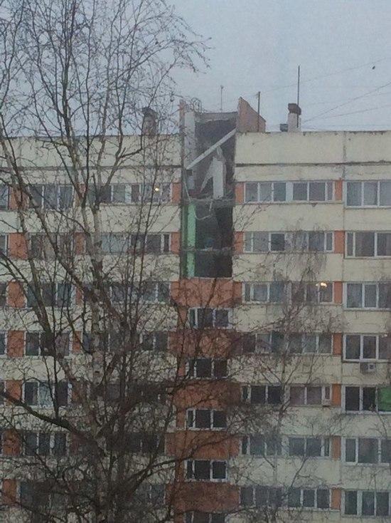 Взрыв газа на Народного ополчения в Санкт-Петербурге