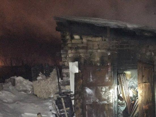При пожаре в Сызрани погибли два брата