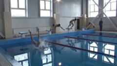 Открытие очередного бассейна в Туве