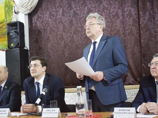 Глава Нижегородской области рассказал борчанам о газификации и медицине