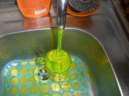 В Казани вода может окраситься в зеленый цвет