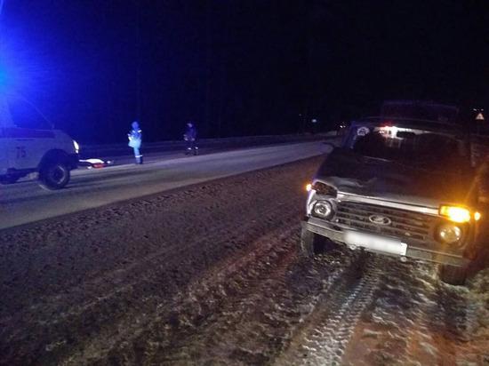 Женщина-пешеход погибла под колесами «Нивы» в Чувашии