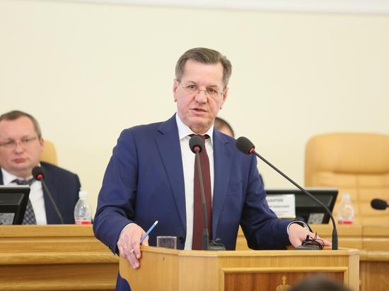 Александр Жилкин отчитался перед депутатами о работе за год