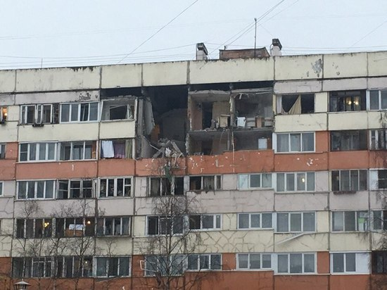 В квартиры пострадавшего от взрыва дома в Петербурге вернулись 244 человека