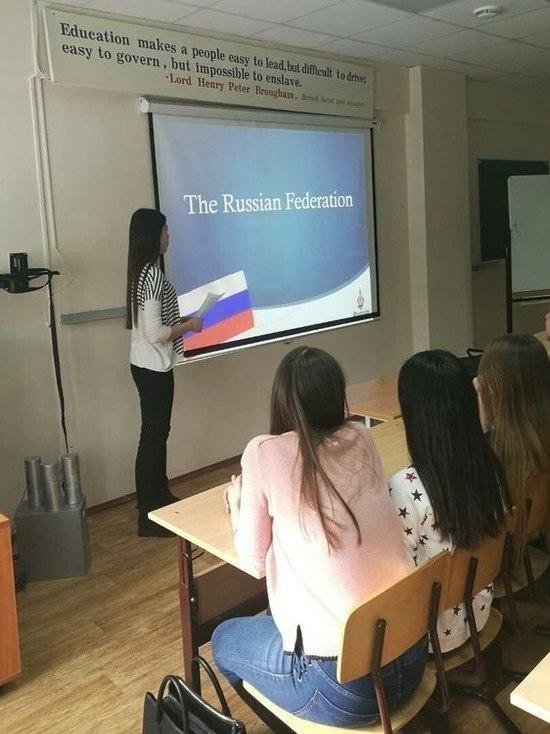 В Нижневартовском госуниверситете обучаются студенты из Дании