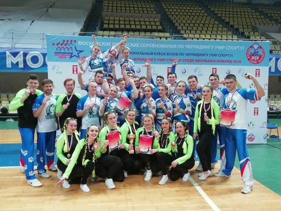Черлидеры из Тамбова успешно выступили на столичных турнирах