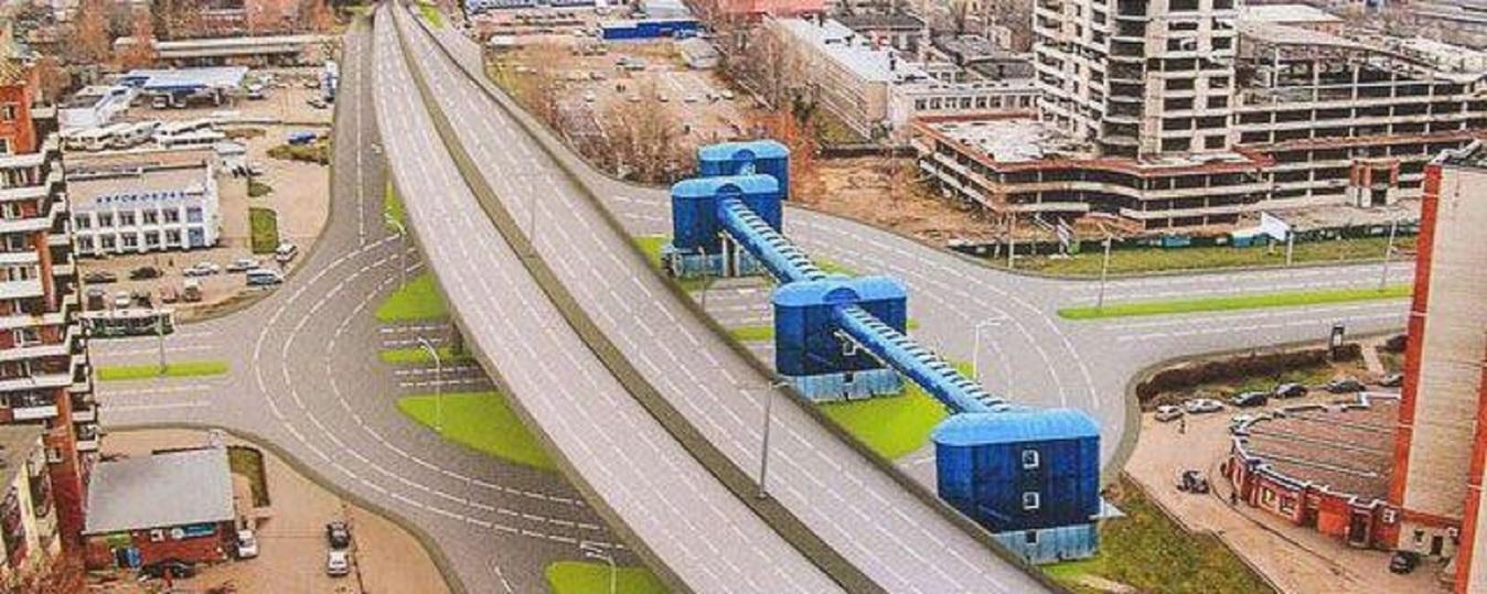 Проект карабулинской развязки в ярославле фото