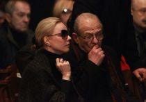 Марина Зудина на прощании с Олегом Табаковым сказала пронзительные слова