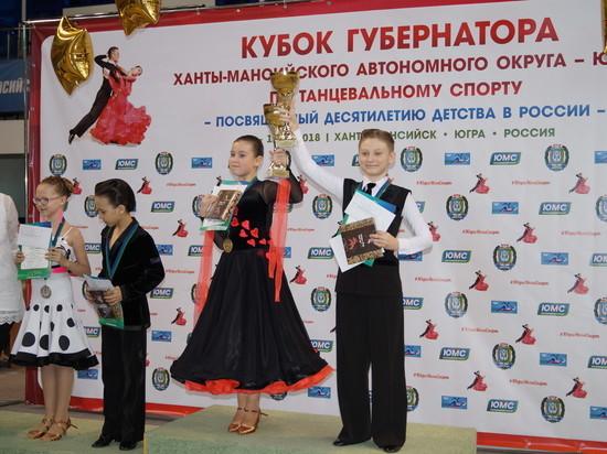 В Югре прошли соревнования на Кубок губернатора по танцевальному спорту