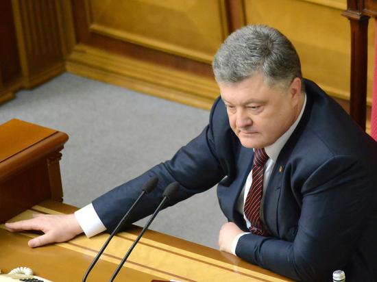 В Верховной раде заявили, что главная угроза для Порошенко — украинцы