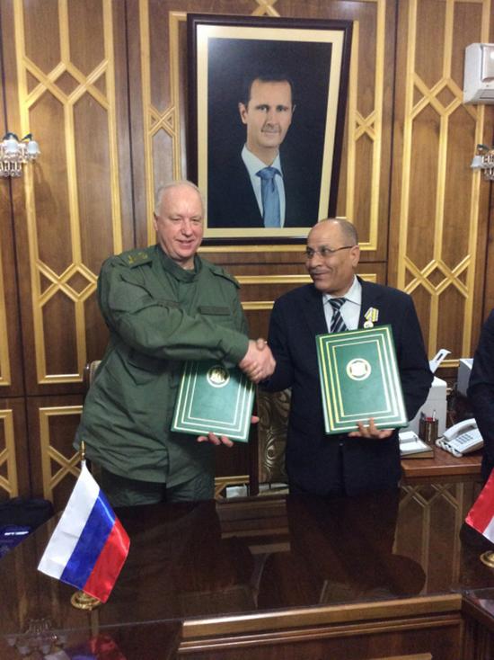 В Сирии обсудили ход расследования убийств российских военнослужащих