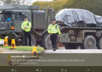След отравления Скрипаля привел на британскую военную базу
