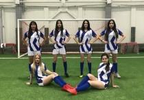 Наша команда вышла в плей-офф Женской любительской футбольной лиги